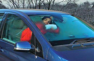 Охладите салон после выхода из авто