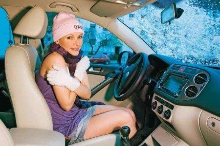 Прогреть авто зимой быстрее