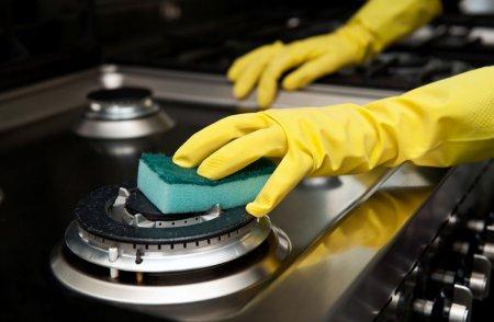 Лёгкая очистка плиты