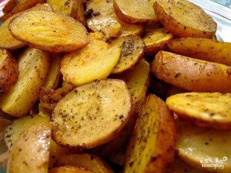 Картофель из пакета. Просто и вкусно!