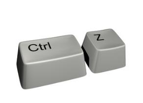 Как отменить Ctrl+Z?