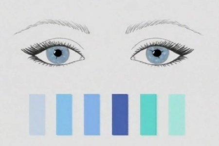 Как подобрать оттенок теней под цвет глаз?