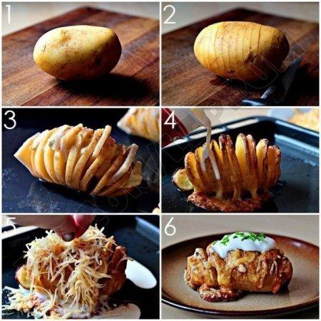 Идея быстрой и вкусной закуски из картофеля