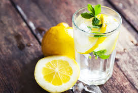 Вода с лимоном