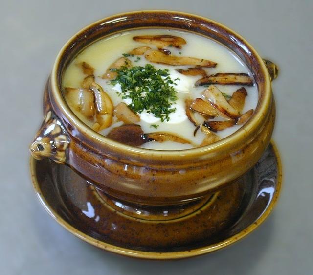 Как сварить суп из грибов