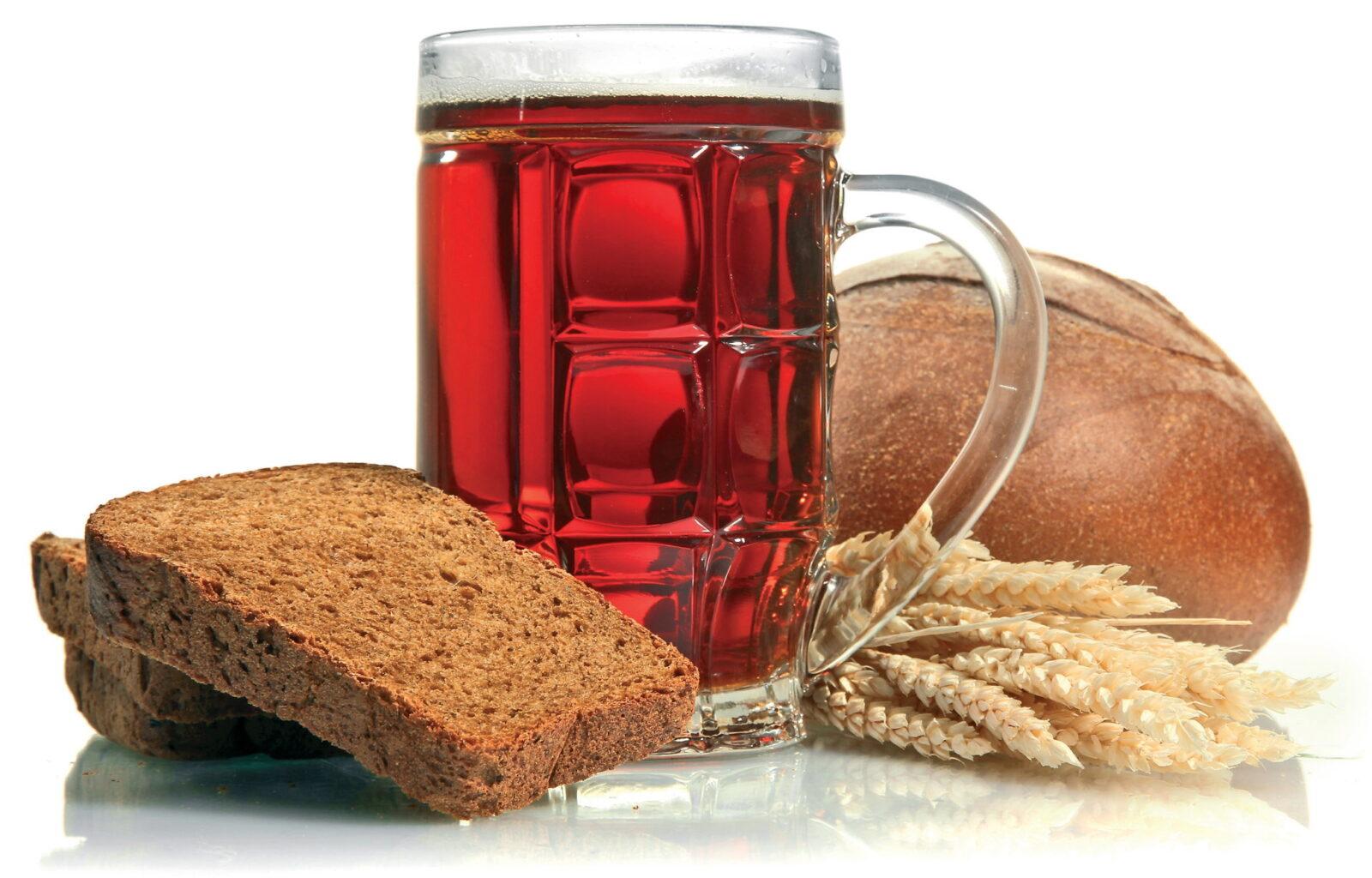 Как приготовить хлебный квас?